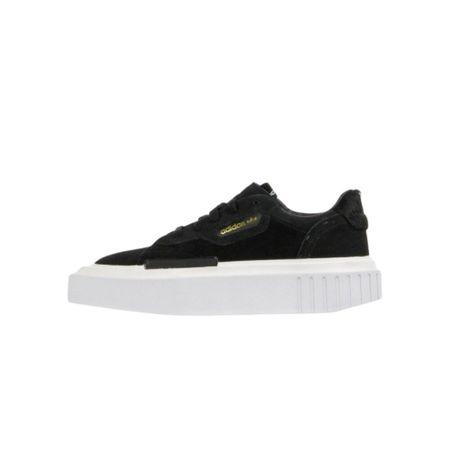 Adidas, Low Shoe Hypersleek W Schwarz, Damen, Größe: 38