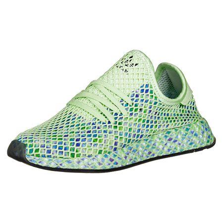 adidas Originals adidas Schuhe Deerupt Runner W Sneakers Low grün Damen Gr. 41 1/3