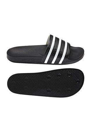 Adidas Originals Badelatschen ADILETTE 280647 Schwarz Weiß