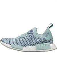 adidas Originals Damen NMD_R1 STLT Primeknit Sneakers Minzgrün