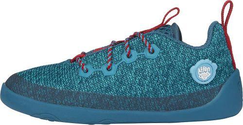Affenzahn, Barfußschuh Knit Hai in blau, Halbschuhe für Mädchen