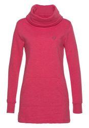 alife and kickin Longsweatshirt »MILENA« trendy Sweatshirt mit Schalkragen in Melange-Optik
