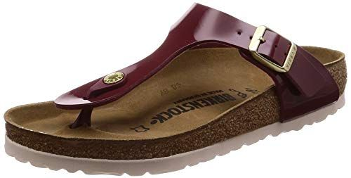uk availability e2e47 d8f55 BIRKENSTOCK Gizeh BF Patent Bordeaux 36