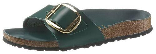 Birkenstock »MADRID BIG BUCKLE« Pantolette mit ergonomisch geformtem Fußbett, in schmaler Schuhweite