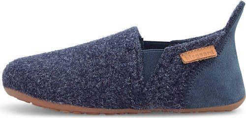 bisgaard, Hausschuh Sailor Wool in dunkelblau, Hausschuhe für Jungen