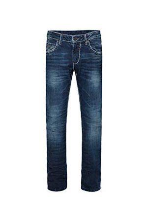 Camp David Herren Regular Fit Dark Used Jeans