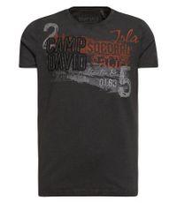 CAMP DAVID T-Shirt mit Artwork