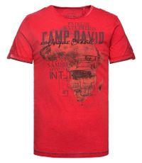 CAMP DAVID T-Shirt mit Farbschattierungen