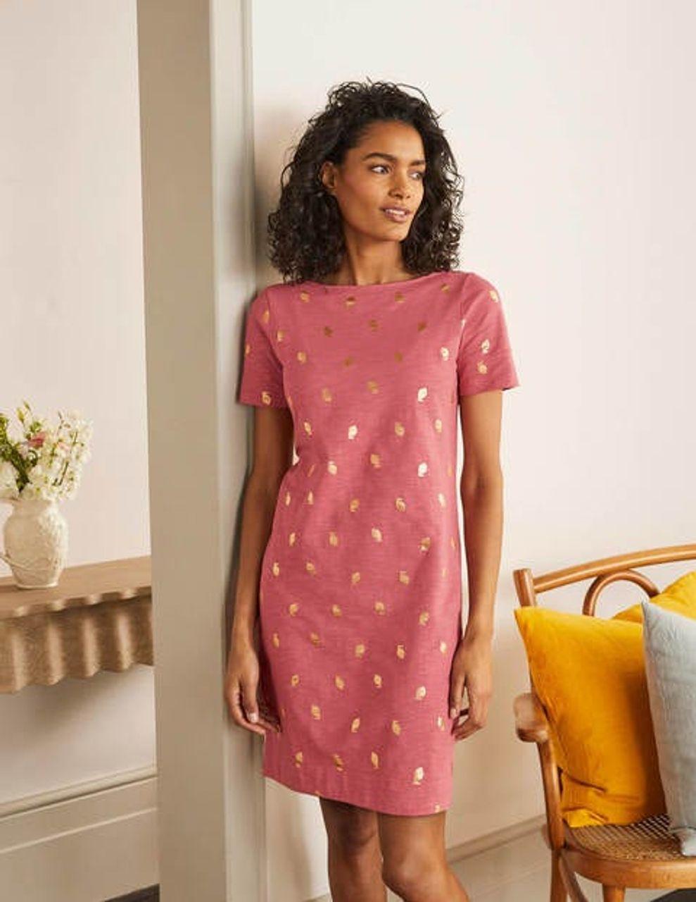 Boden Darcey T Shirt Kleid aus Jersey LRD Damen , LRD   Preise ...