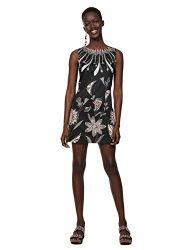 Desigual Damen Dress Sleeveless KIRA Woman Black Kleid