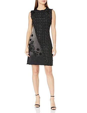 Desigual Damen Kleid Vest Achille Knielang 17wwvd05 5009 Preise Vergleichen