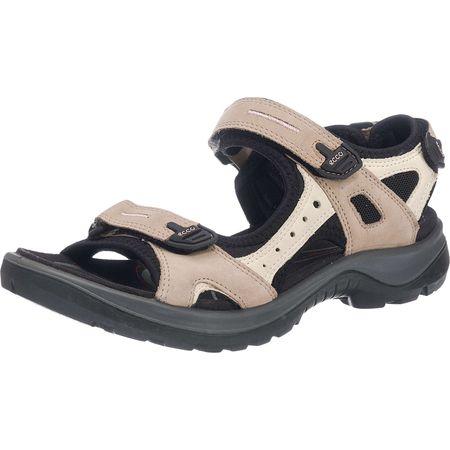 Ecco Offroad Komfort-Sandalen creme Damen Gr. 36