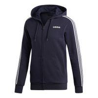 Essentials 3 Stripes Full-Zip Fleece Trainingsjacke