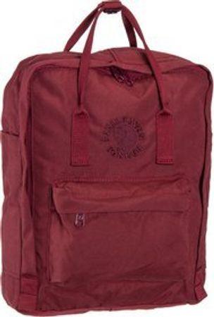 Fjällräven Rucksack / Daypack Re-Kanken Ox Red (16 Liter)