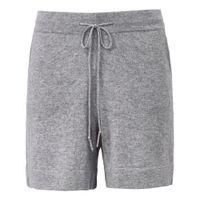 FLUFFY EARS Strick-Shorts aus 100% PREMIUM Kaschmir FLUFFY EARS grau