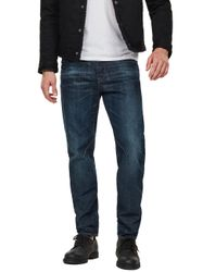 G-Star Herren Jeans Arc 3D Relaxed Tapered - Blau - Dark Aged