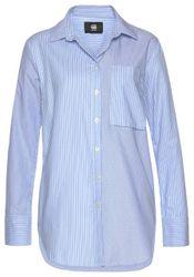 G-Star RAW Hemdbluse »Core 1 pkt bf shirt wmn l/s,« im Streifen-Design