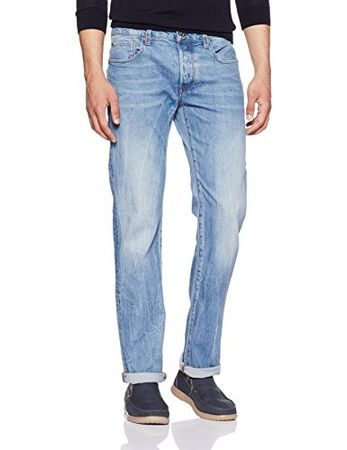 G-STAR RAW Herren 3301 Straight Jeans, 33W/34L
