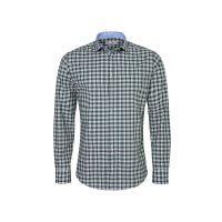 G'WEIH & SILK Trachtenhemd Langarmhemden grün Herren Gr. 48/50