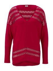 heine TIMELESS Pullover Ausbrenner
