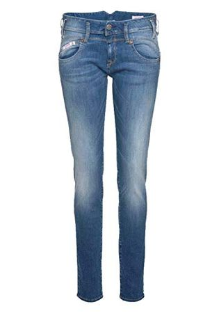 Herrlicher Damen Pearl Denim Powerstretch Slim Jeans, W24/L32