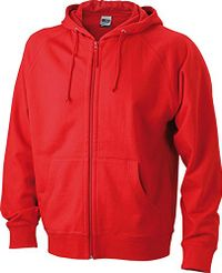 Hooded Jacket | red | S im digatex-package