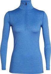 Icebreaker 200 Oasis LS Half Zip Shirt Women Cove Größe XL 2019 Unterwäsche