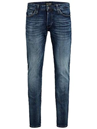 JACK & JONES Male Slim Fit Jeans Glenn Con 057 50SPS 2830Blue Denim