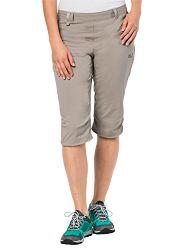 Jack Wolfskin Damen Activate Light 3/4 Pants Elastisch Atmungsaktiv Wasserabweisend Outdoor Softshell Hose