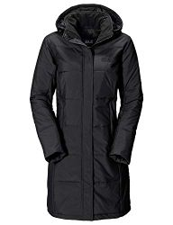 Jack Wolfskin Damen Mantel Iceguard Coat-1201222-6000001 Schwarz (Black)