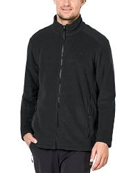Jack Wolfskin Herren Midnight Moon Klassisch Fleecejacke Black S