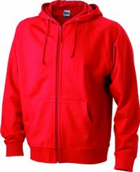 James & Nicholson Herren Kapuzenpullover Hooded Jacket