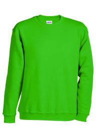 James & Nicholson Herren Round-Sweat-Heavy ÜG Sweatshirt, XXXX-Large