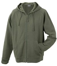 James & Nicholson Herren Sweatjacke Hooded