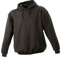 James & Nicholson Herren Sweatshirt Hooded Sweat Braun (brown) Small