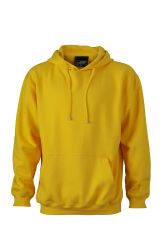 James & Nicholson Unisex Kapuzenpullover Sweatshirt Hooded Sweat gelb (Sun Yellow) Medium