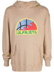 "Kapuzenpullover mit ""Islanders""-Print"