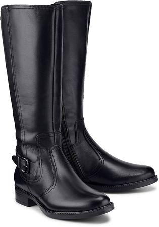 Klassik-Stiefel von Tamaris in schwarz für Damen. Gr. 36,37,38,39,40,41
