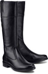 Klassik-Stiefel von Tamaris in schwarz für Damen. Gr. 38