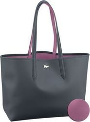 Lacoste Shopper Anna Shopping Bag 2142 Ebony/Orchid (innen: Violett)