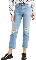 Levis 501 Crop Womens Jeans 26W x 28L Authentically Yours