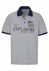 Man's World Poloshirt mit Kontrastkragen