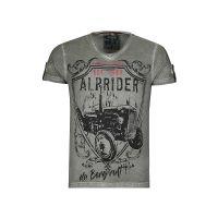 MarJo Trachtenshirt T-Shirts oliv Herren Gr. 50/52