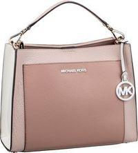 Michael Kors Handtasche Gemma Medium Pocket TH Satchel Soft Pink/Fawn