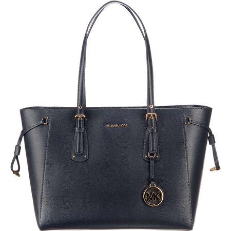 MICHAEL KORS Voyager Md Mf Tz Tote Handtasche dunkelblau Damen Gr. one size