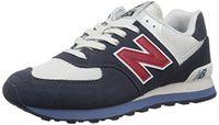 New Balance Herren Ml574E Sneaker, Grün (Green/ML574ESC)