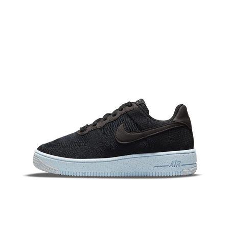 Nike Air Force 1 Crater Flyknit Schuh für ältere Kinder - Schwarz
