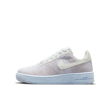 Nike Air Force 1 Crater Flyknit Schuh für ältere Kinder - Weiß