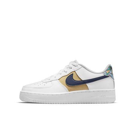 Nike Air Force 1 Low LV8 Schuh für ältere Kinder - Weiß