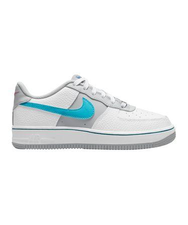 Nike Air Force 1 LV8 Kids (GS) Weiss Blau F100
